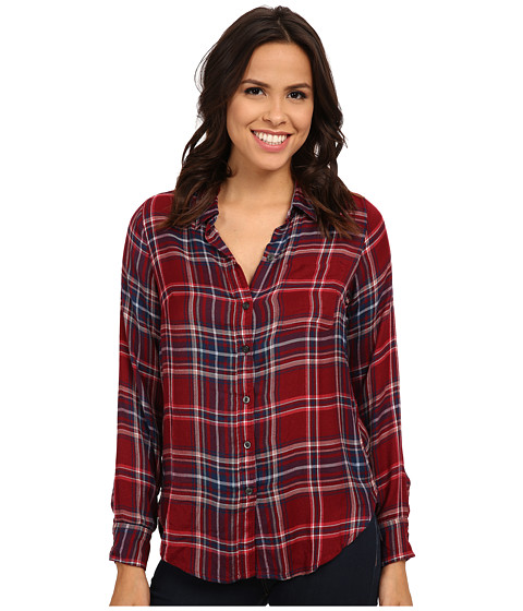 Lucky Brand - Bungalow Flannel (Red Multi) Women