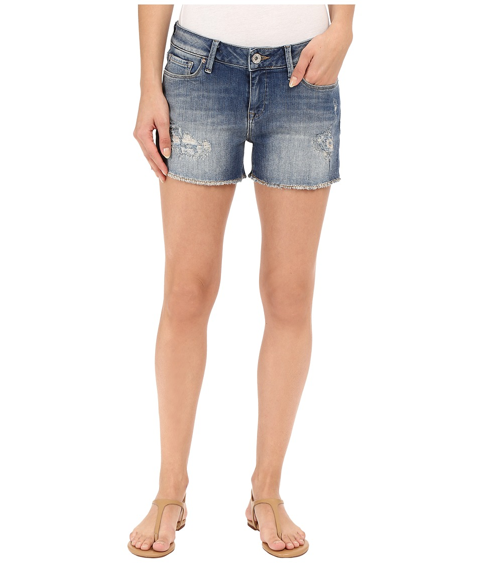 Mavi Jeans - Emily in Used Ripped Vintage (Used Ripped Vintage) Women's Shorts plus size,  plus size fashion plus size appare