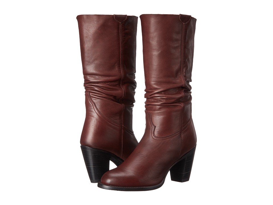 Lucchese - Serena (Burgundy) Cowboy Boots