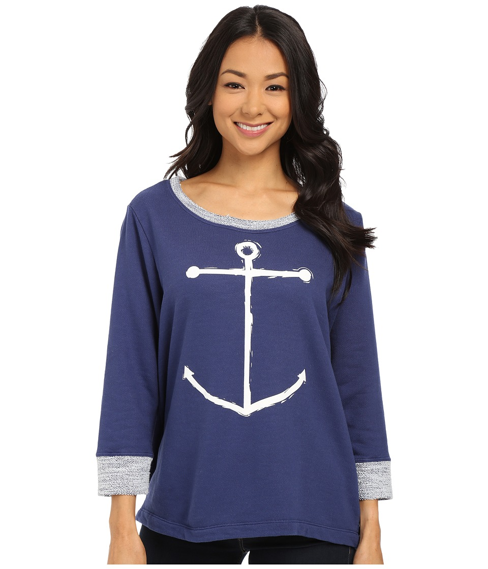 Fresh Produce - Sunset Sweatshirt (Moonlight Blue) Women's Sweatshirt