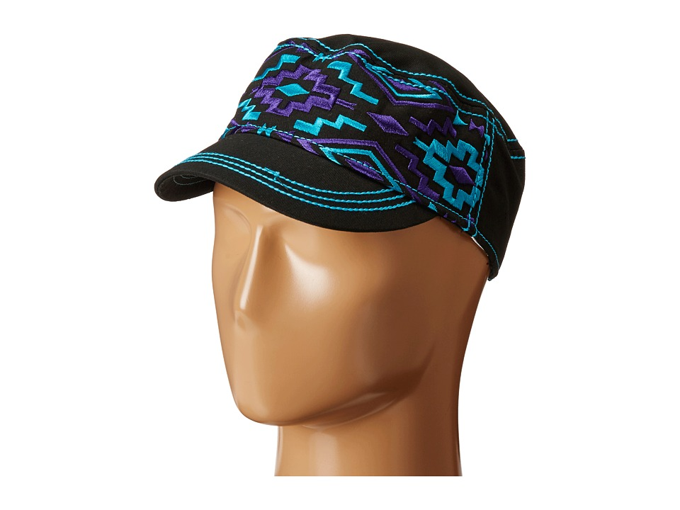 Cruel - Low Profile Radar Style Hat (Black) Caps