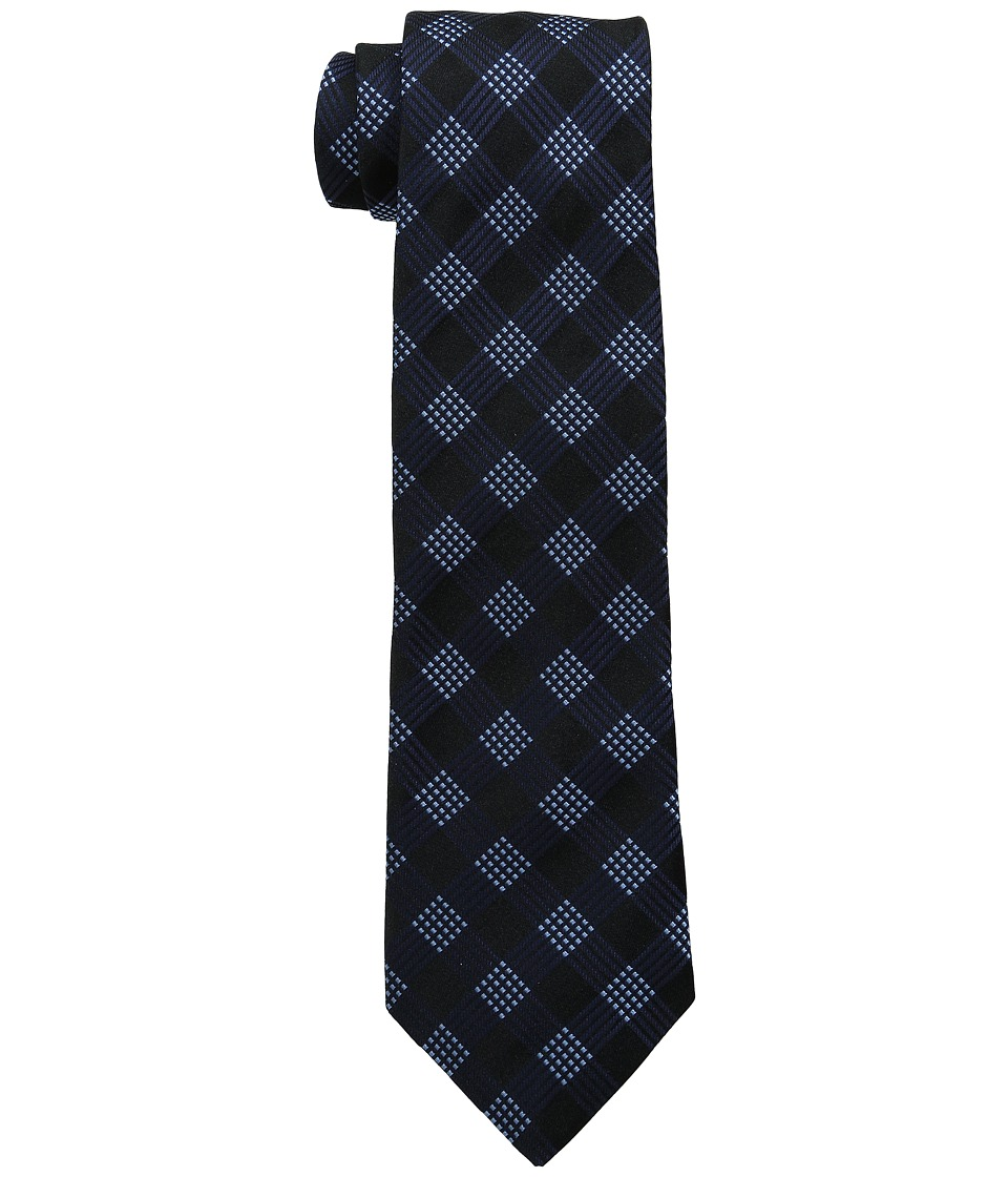 John Varvatos Star U.S.A. - Modern Grid (Navy) Ties