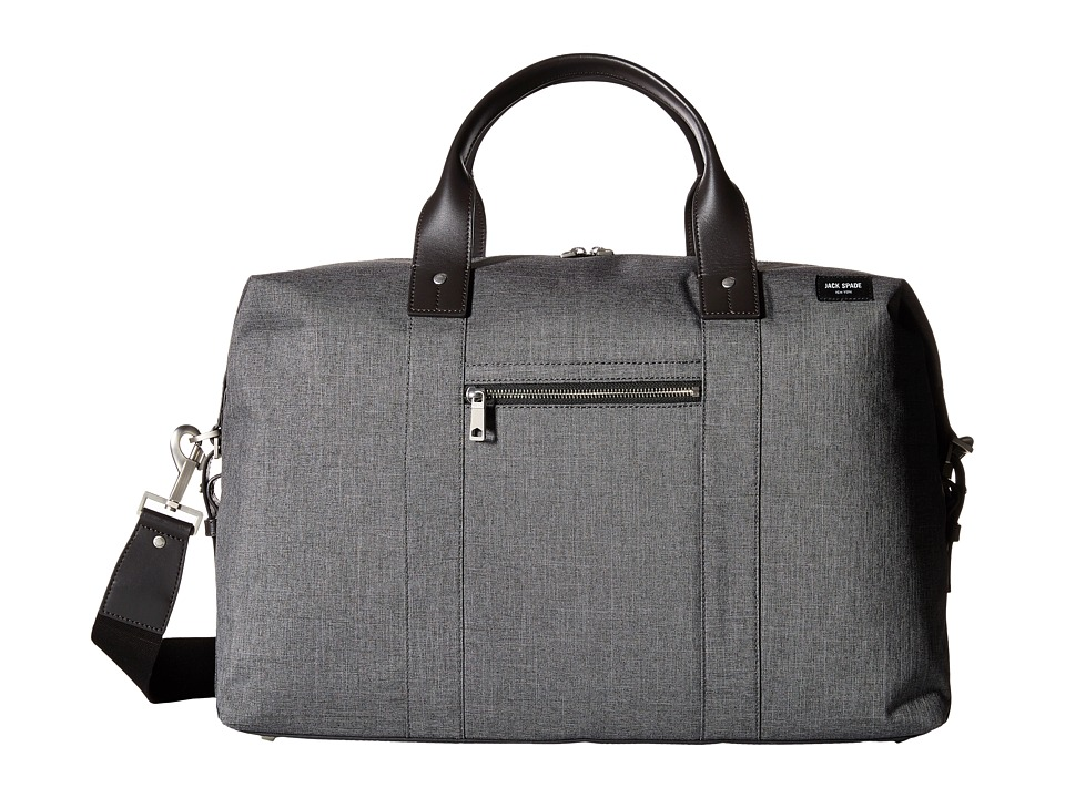 Jack Spade - Tech Oxford Revised Wing Duffel (Grey) Duffel Bags