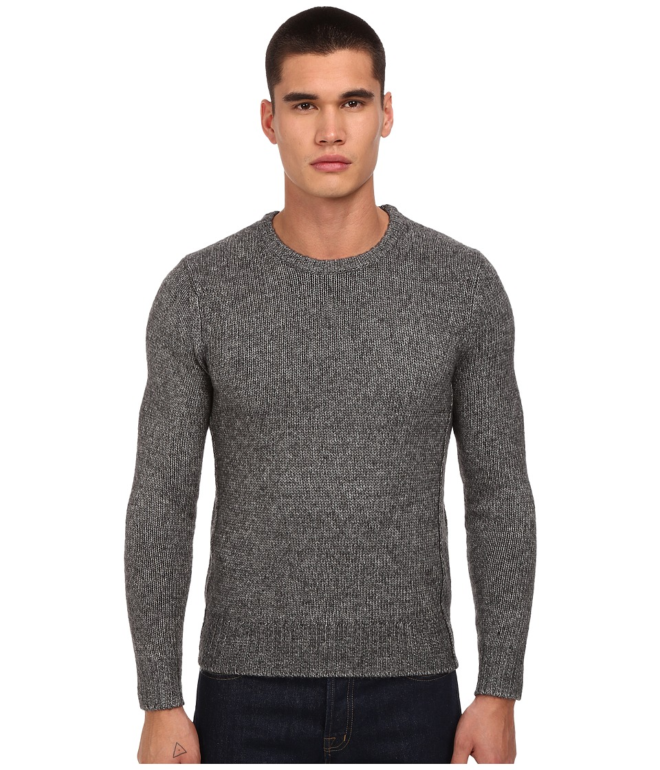 Jack Spade - Bromley Crew Neck Sweater (Grey) Men's Sweater