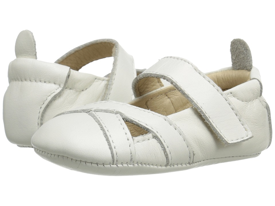 Old Soles - Chianti (Infant/Toddler) (White) Girls Shoes