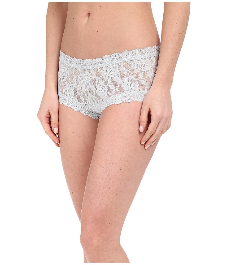 Hanky Panky - Signature Lace Boyshort (Pearl Grey) Women's Underwear
