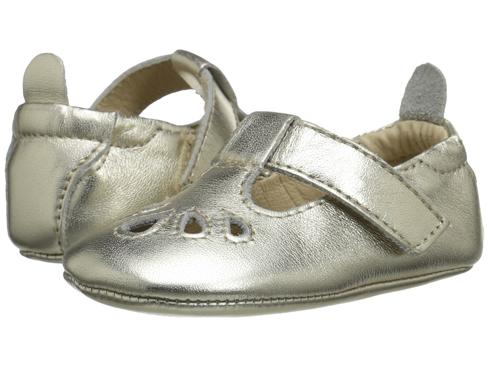 Old Soles - T-Petal (Infant/Toddler) (Gold) Girls Shoes