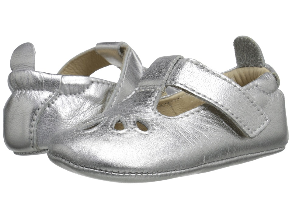 Old Soles - T-Petal (Infant/Toddler) (Silver) Girls Shoes