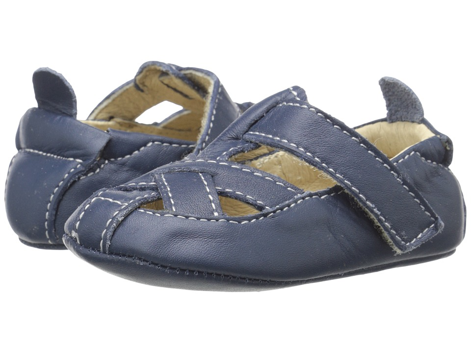 Old Soles - Thread Shoe (Infant/Toddler) (Denim) Boy's Shoes