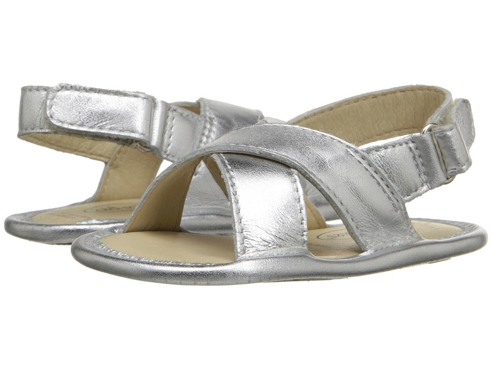 Old Soles - Bambini Yoga (Infant/Toddler) (Silver) Girl's Shoes