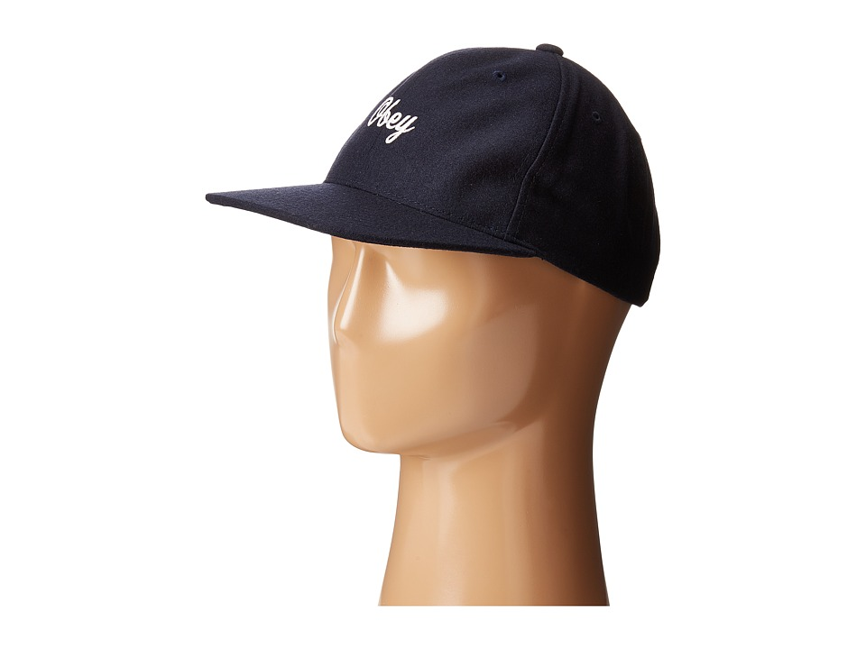Obey - Walter Hat (Navy) Caps