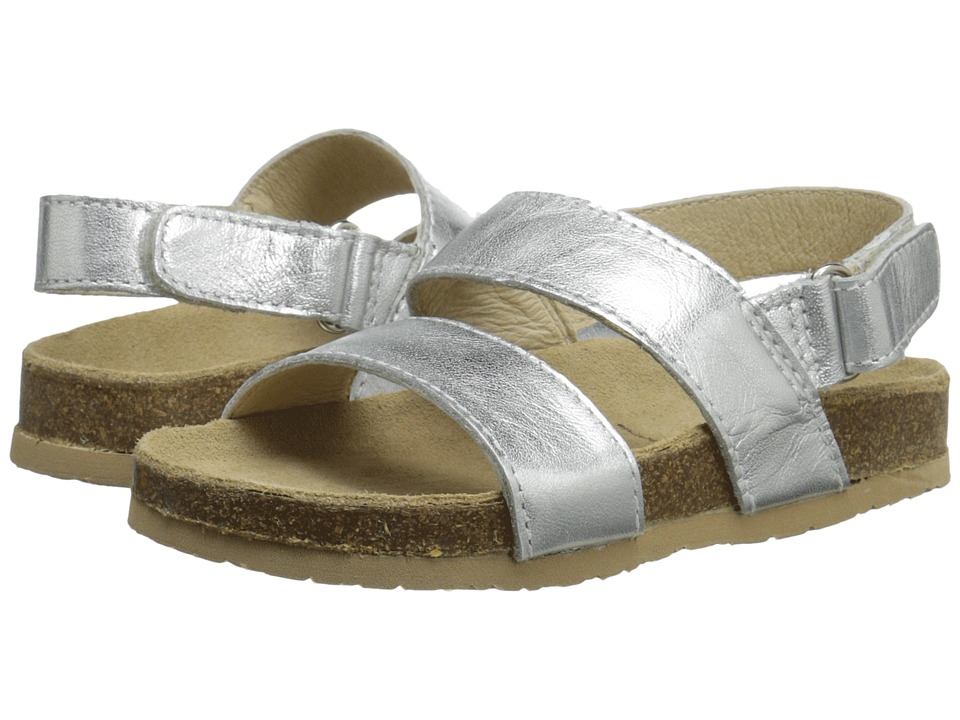 Old Soles - Bondi Style (Toddler/Little Kid) (Silver) Girl's Shoes
