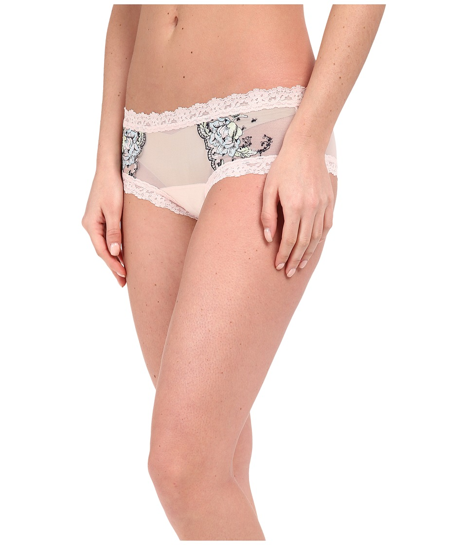 Hanky Panky - Embroidery Hipster (Rosy Peach) Women's Underwear