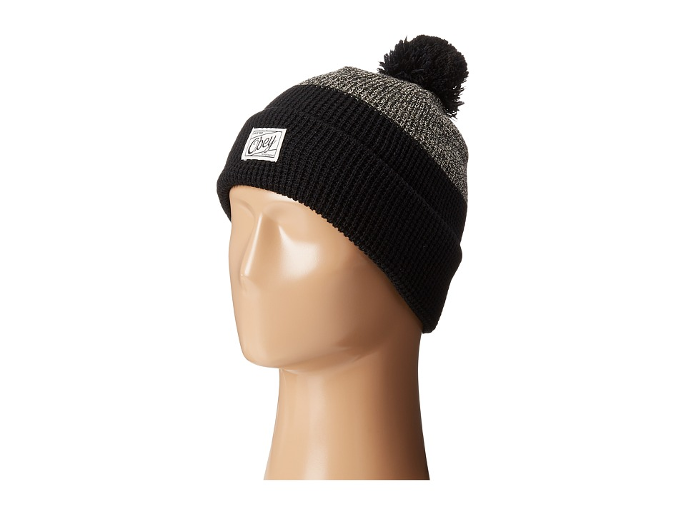 Obey - Madison Beanie (Black) Beanies