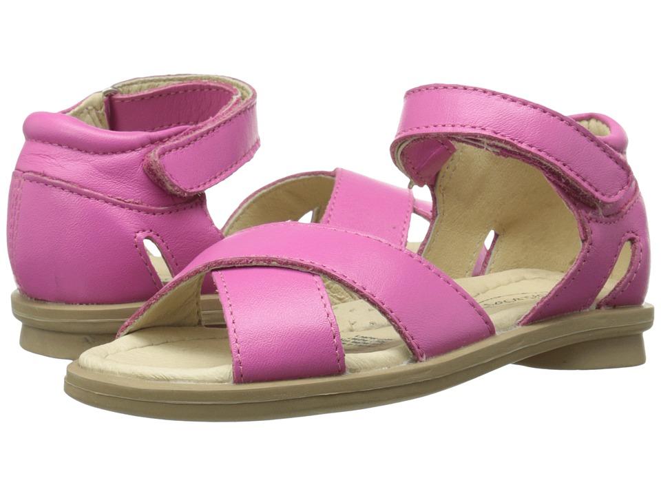 Old Soles - Villa Sandal (Toddler/Little Kid) (Fuchsia) Girl's Shoes