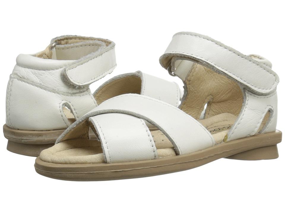 Old Soles - Villa Sandal (Toddler/Little Kid) (White) Girl's Shoes