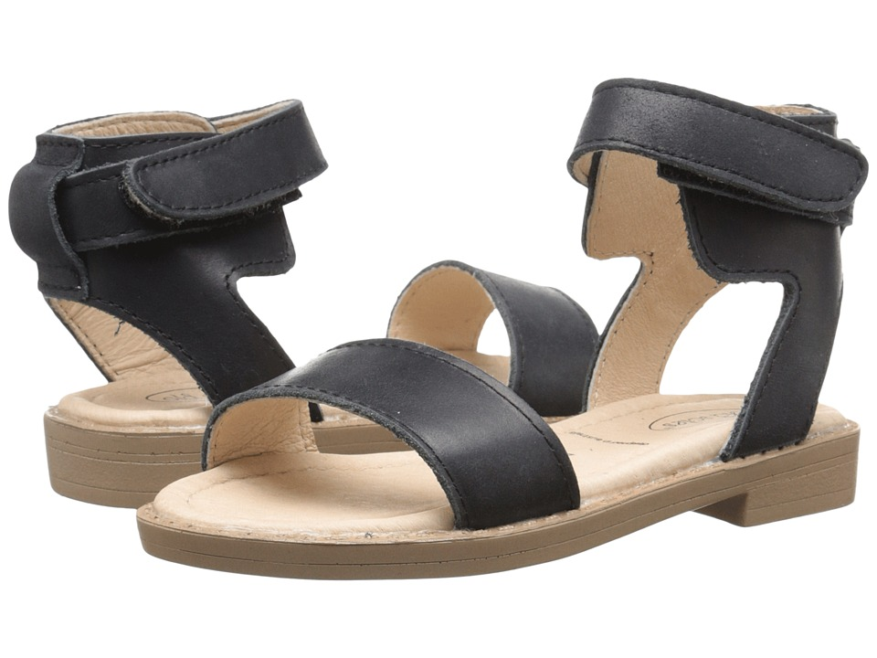 Old Soles - Solace Sandal (Toddler/Little Kid) (Black) Girl's Shoes