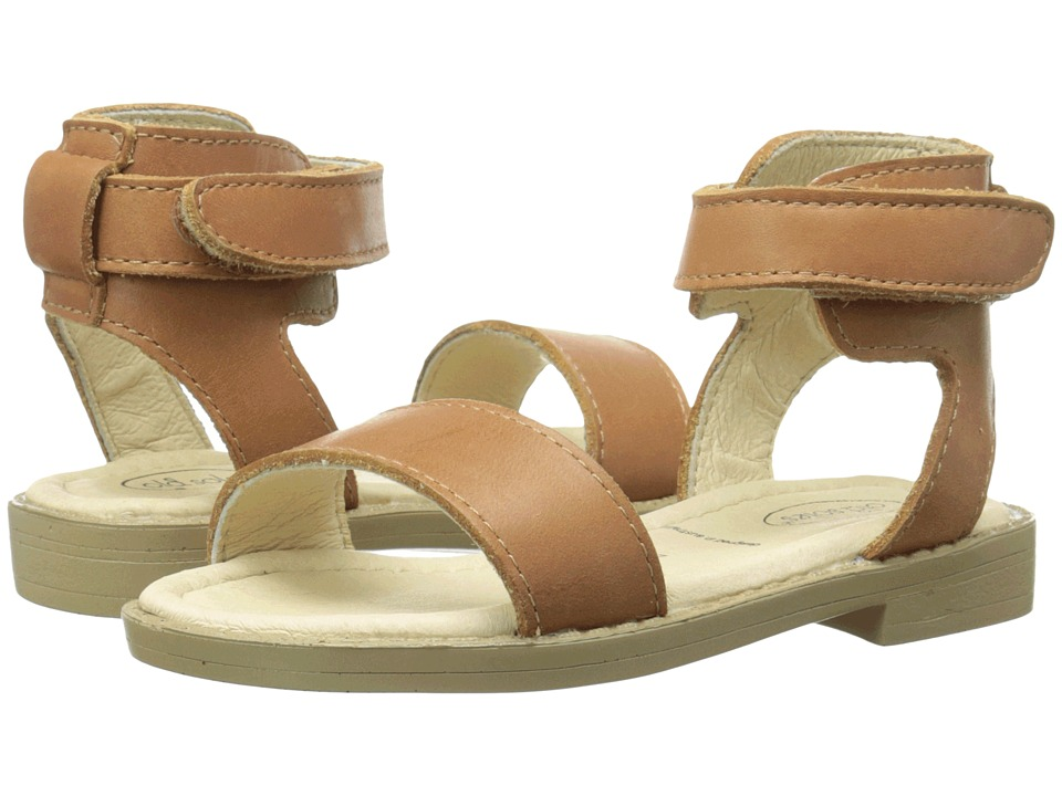 Old Soles - Solace Sandal (Toddler/Little Kid) (Tan) Girl's Shoes