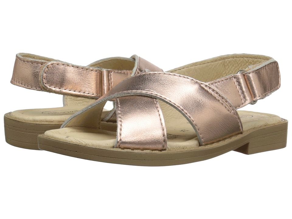 Old Soles - Flavour Sandal (Toddler/Little Kid) (Copper) Girl's Shoes