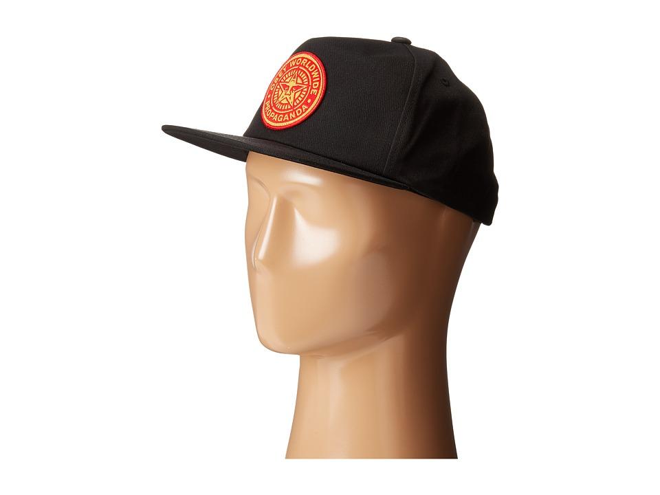 Obey - Heritage Snapback (Black) Caps