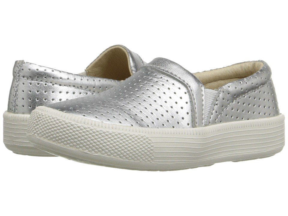 Old Soles - Sporty Hoff (Toddler/Little Kid) (Silver) Girl's Shoes