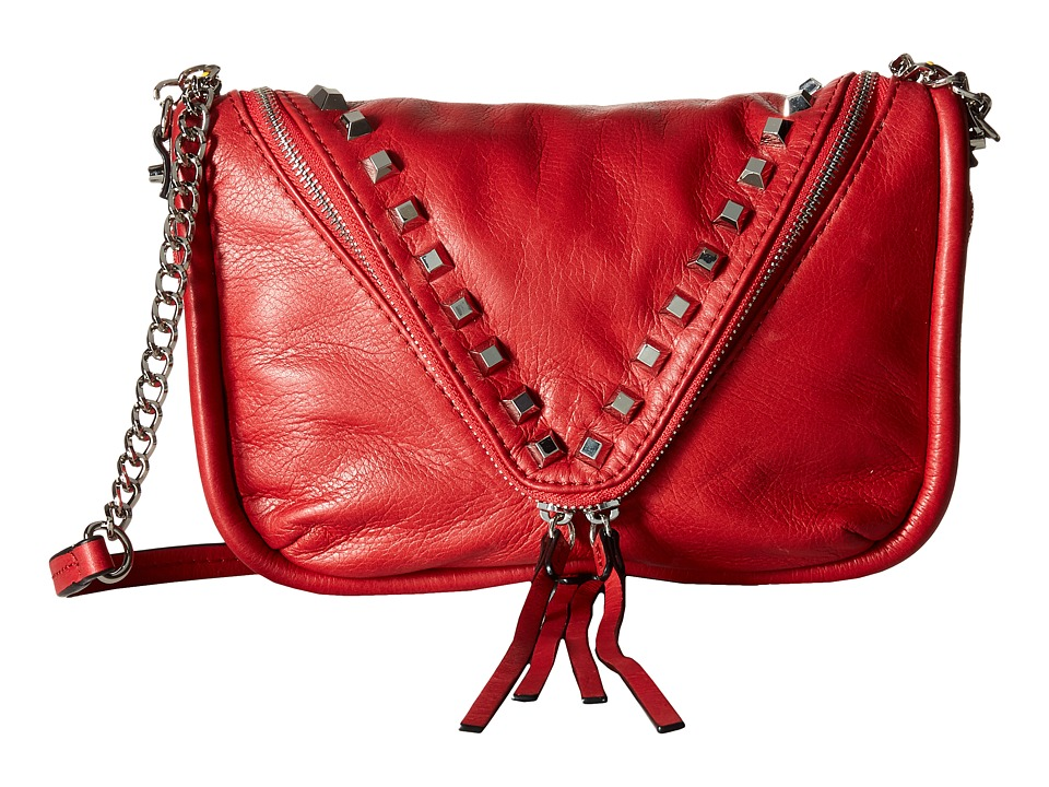 She + Lo - Breakthrough Zip Crossbody (Lipstick Red) Cross Body Handbags
