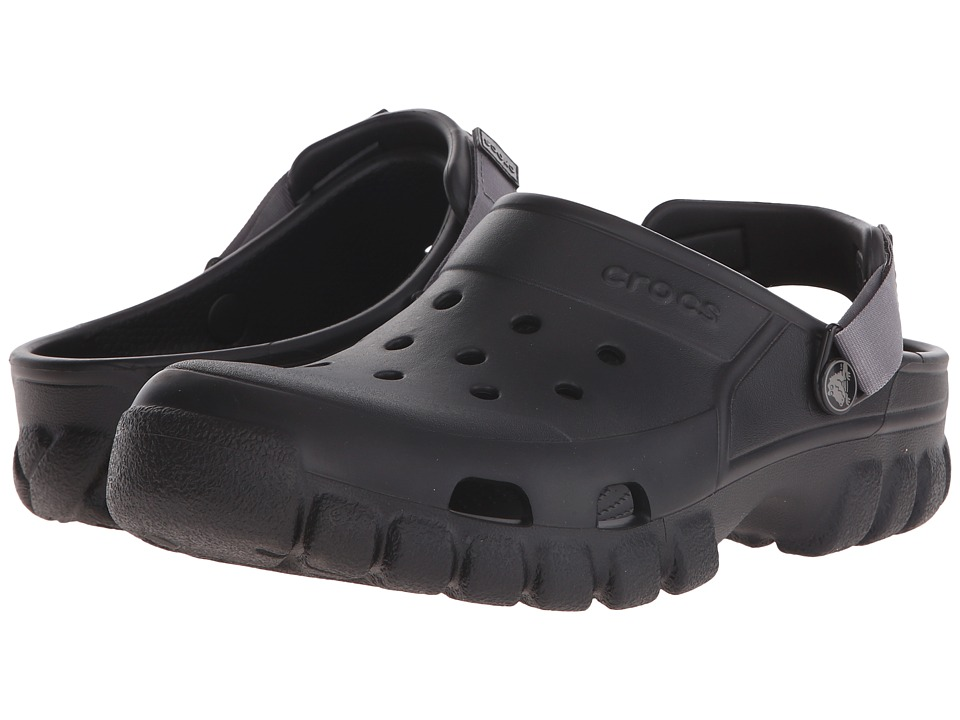 Crocs - Off Road Sport Clog (Black) Clog Shoes