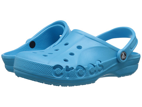 Crocs - Baya (Unisex) (Electric Blue) Slip on Shoes