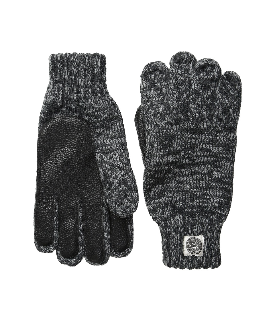 Obey - Boulder Gloves (Heather Charcoal) Extreme Cold Weather Gloves