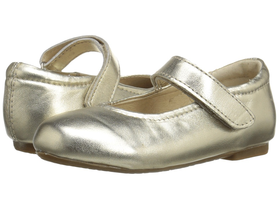 Old Soles - Praline Shoes (Toddler/Little Kid) (Gold) Girls Shoes
