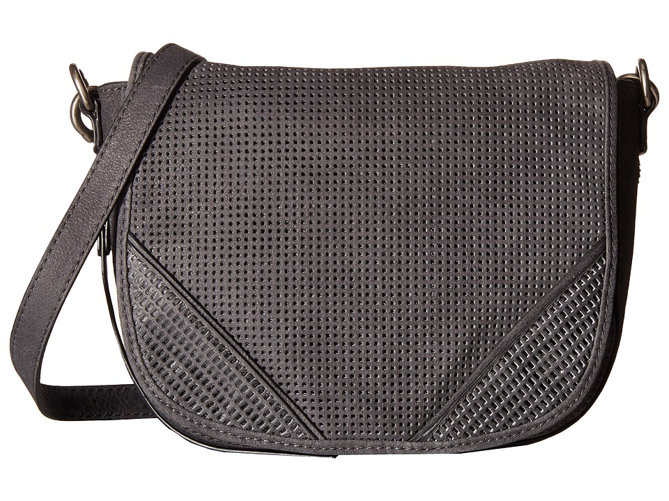 She + Lo - Silver Linings Saddle (Smoke) Cross Body Handbags