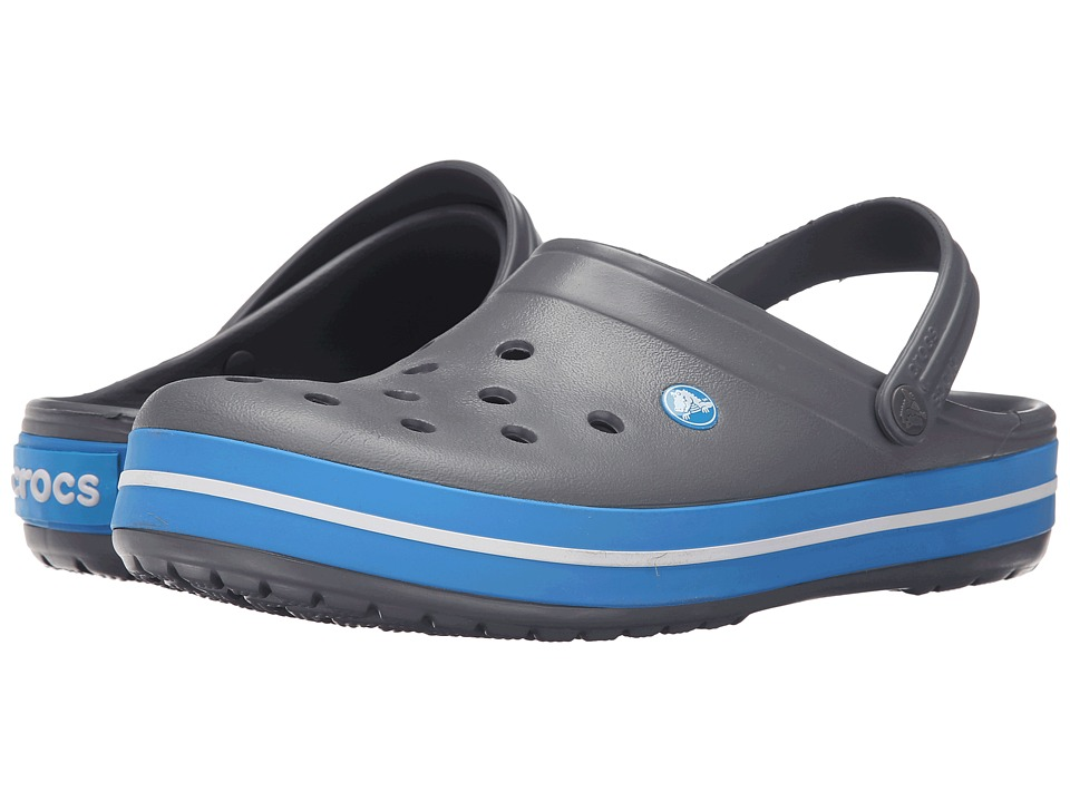 Crocs - Crocband (Charcoal/Ocean) Clog Shoes