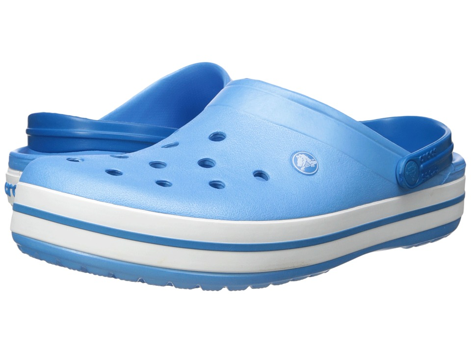 Crocs - Crocband (Bluebell/White) Clog Shoes