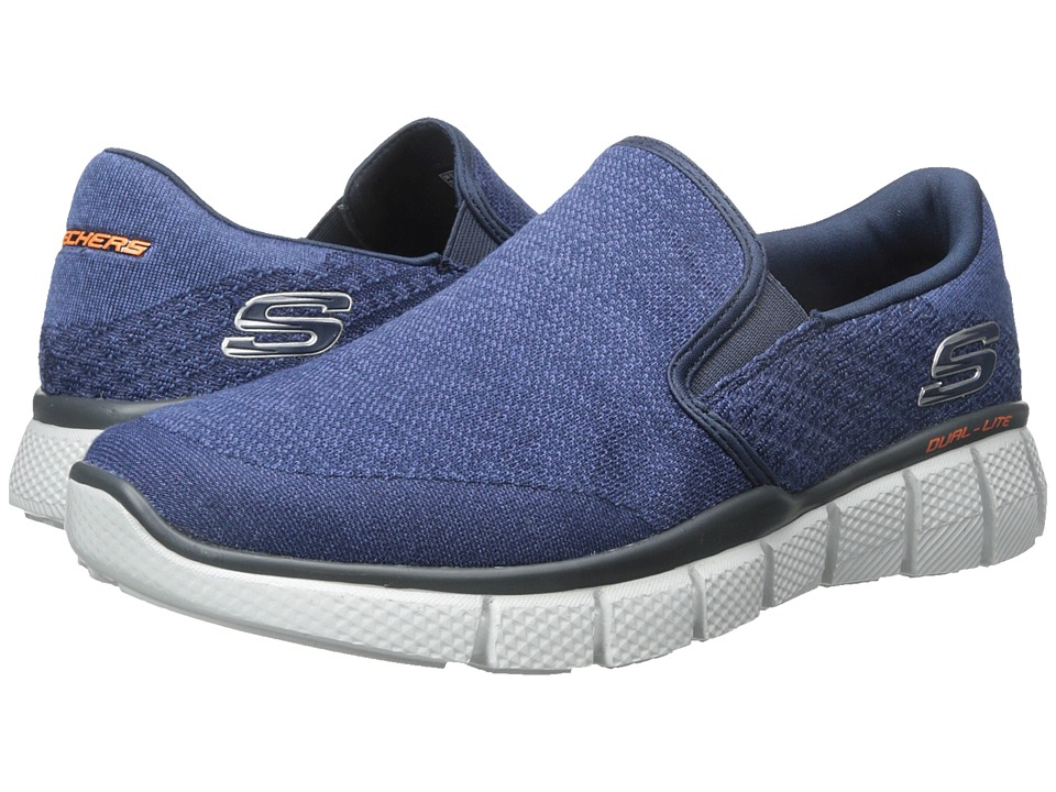 SKECHERS - Equalizer 2.0 (Navy) Men's Shoes