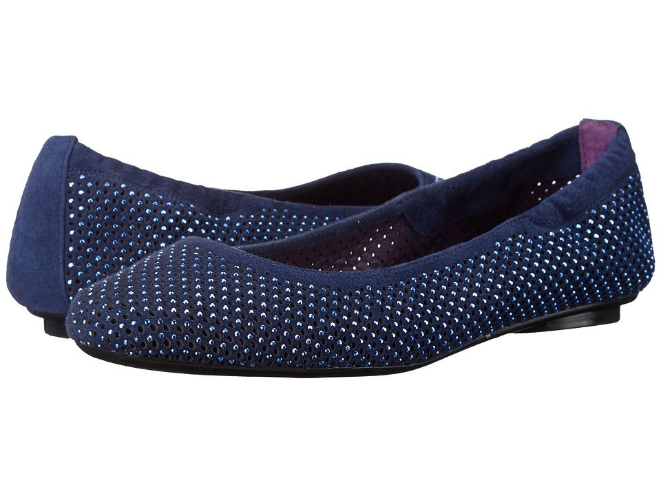 Vaneli - Baldy (Jordan Blue Perf Suede/Match Stones) Women's Flat Shoes