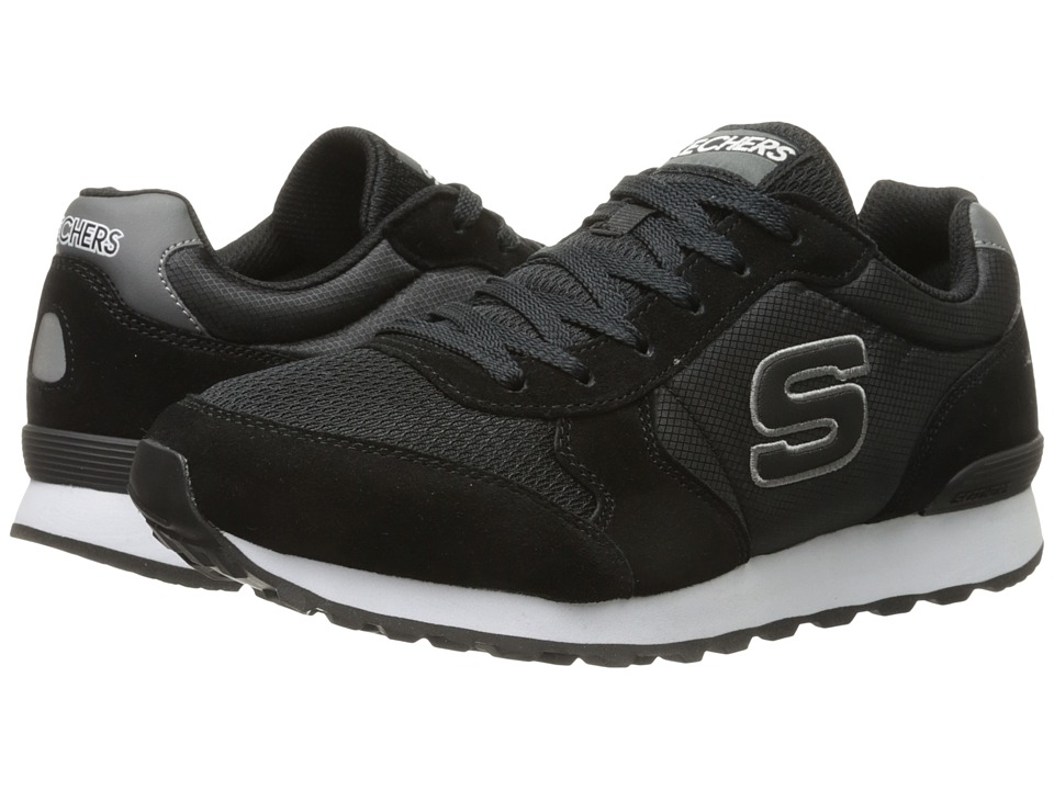 SKECHERS - OG 85 (Black/White) Men's Shoes