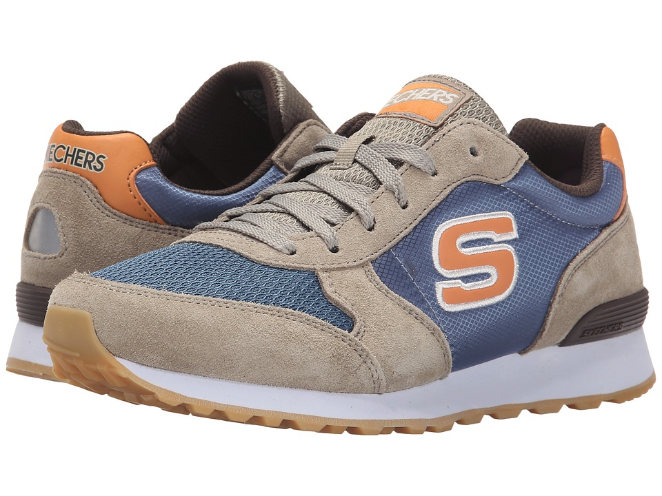 SKECHERS - OG 85 (Natural/Blue) Men's Shoes
