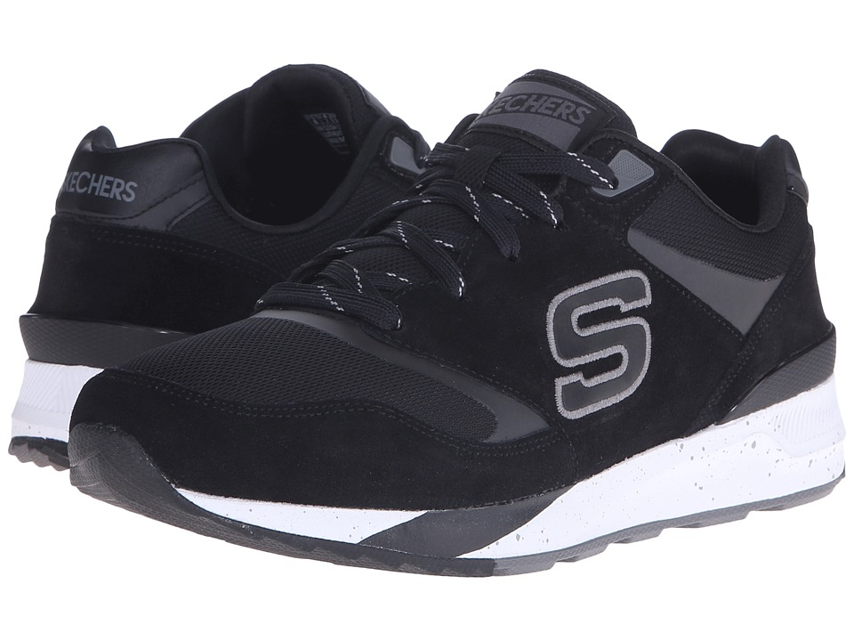 SKECHERS - OG 90 (Black/White) Men's Shoes