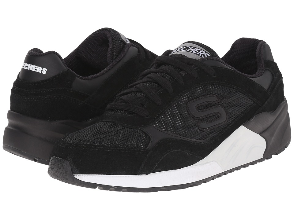 SKECHERS - OG 95 (Black/White) Men's Shoes
