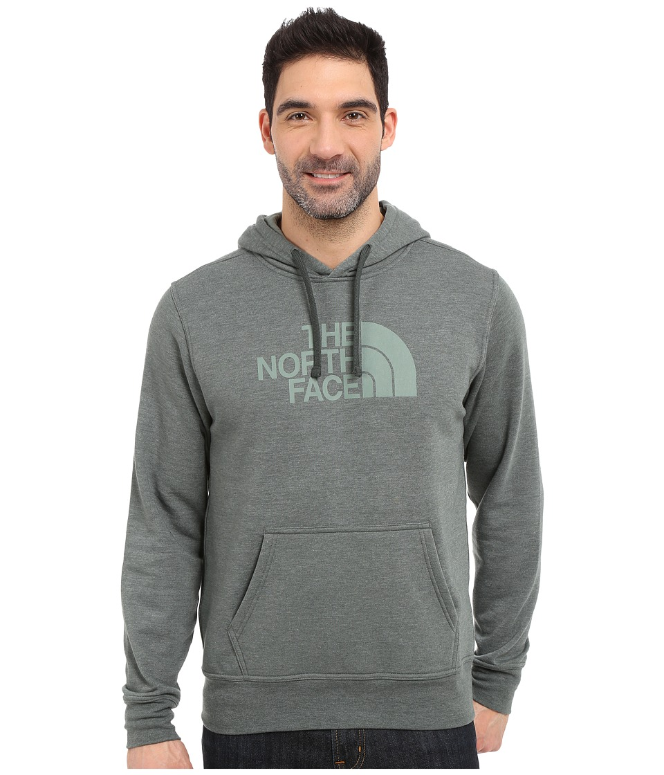 The North Face - Half Dome Hoodie (Spruce Green Heather/Laurel Wreath Green) Men's Long Sleeve Pullover