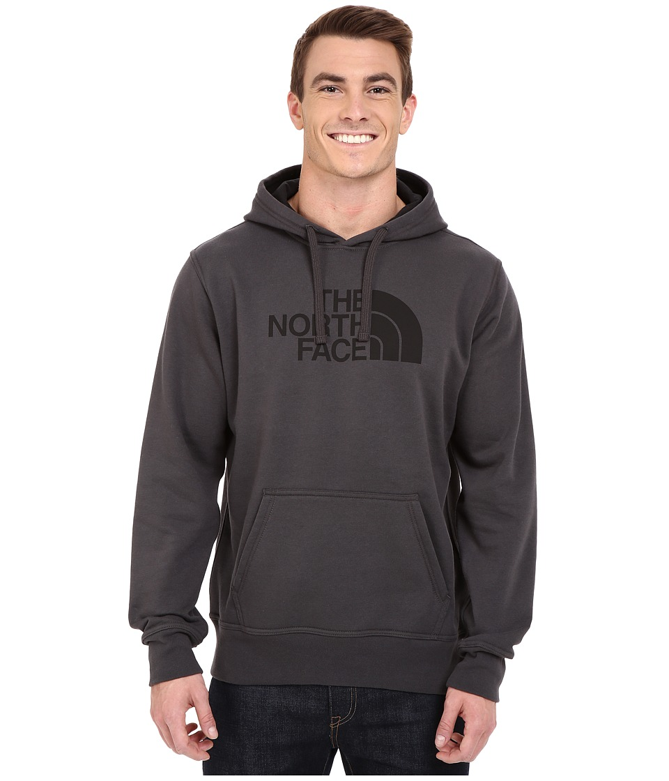 The North Face - Half Dome Hoodie (Asphalt Grey/TNF Black) Men's Long Sleeve Pullover