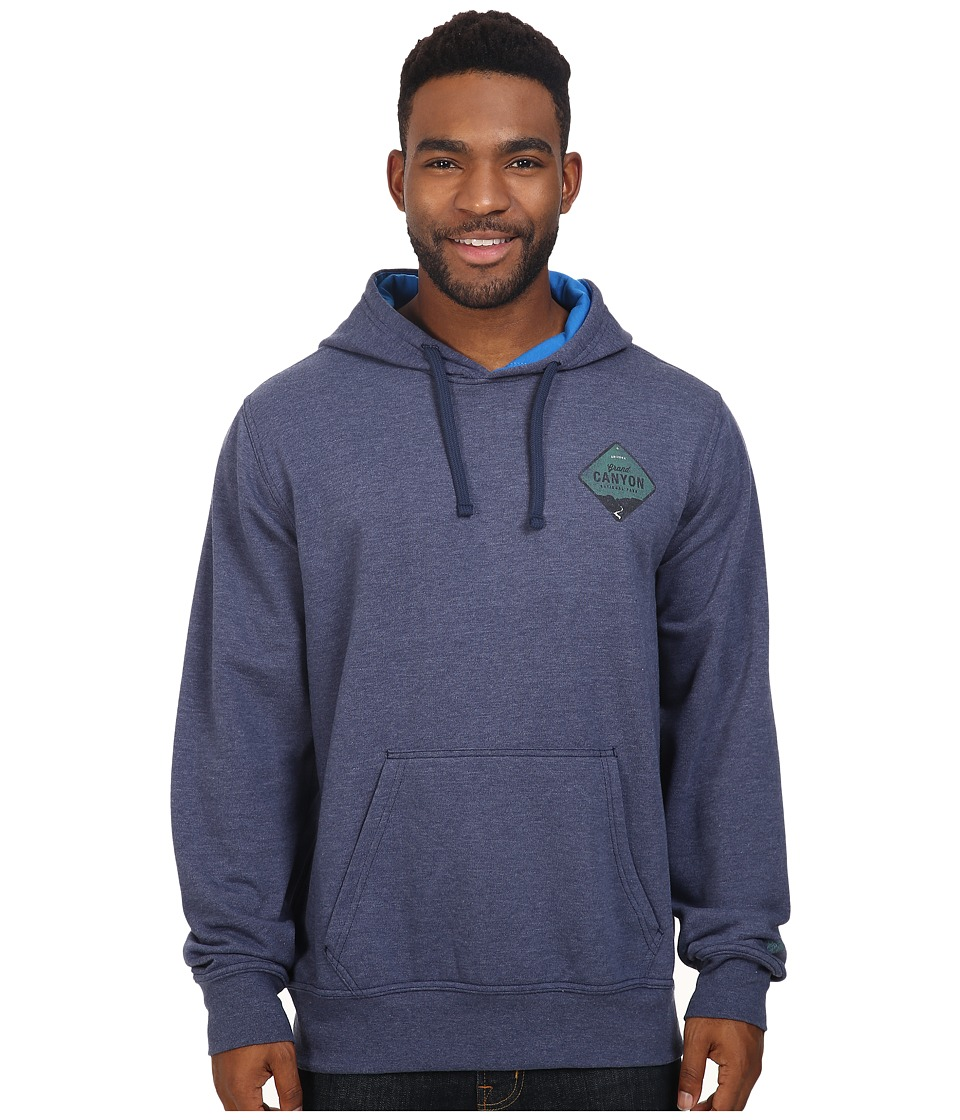 The North Face - National Parks Pullover Hoodie (Cosmic Blue Heather) Men's Sweatshirt