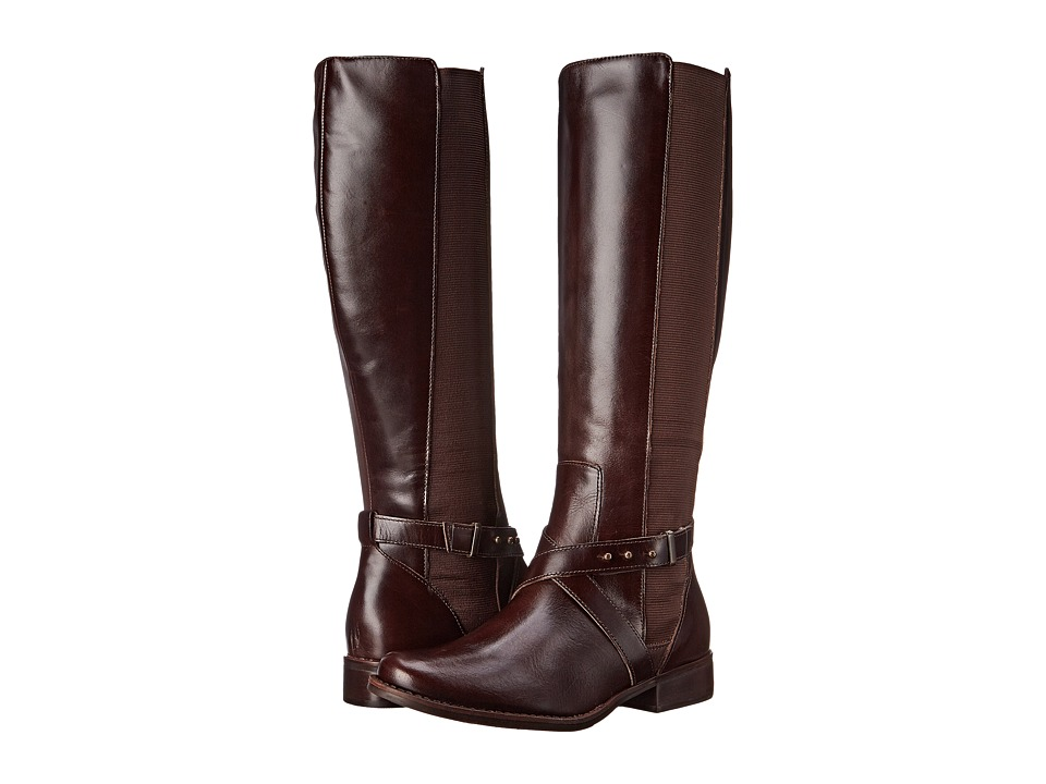 Steven - Sydnee - Wide Calf (Brown Leather) Women