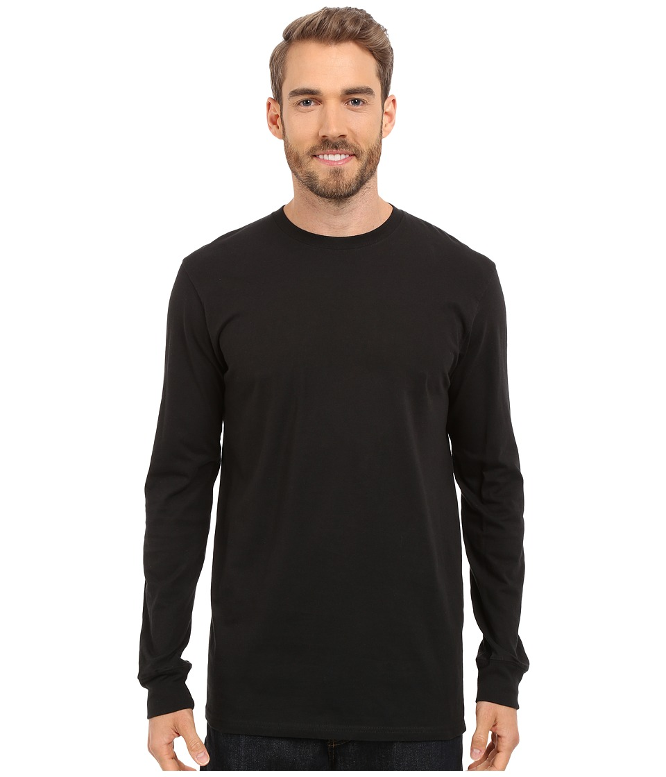 The North Face - Long Sleeve Half Dome Tee (TNF Black/TNF Black) Men