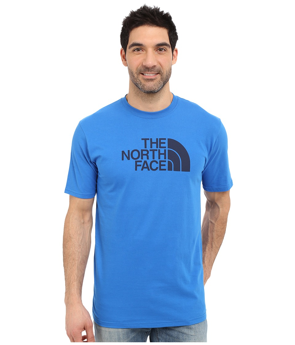 The North Face - Short Sleeve Half Dome Tee (Bomber Blue/Cosmic Blue) Men's T Shirt