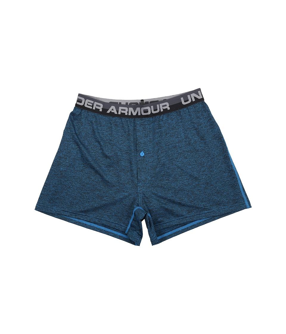 Under Armour - UA Original Series Abe Twist Boxer Shorts (Brilliant Blue/Steel) Men's Underwear