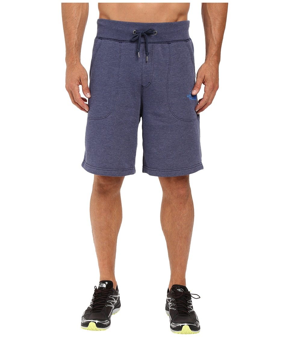 The North Face - Fleece Shorts (Cosmic Blue Heather) Men's Shorts