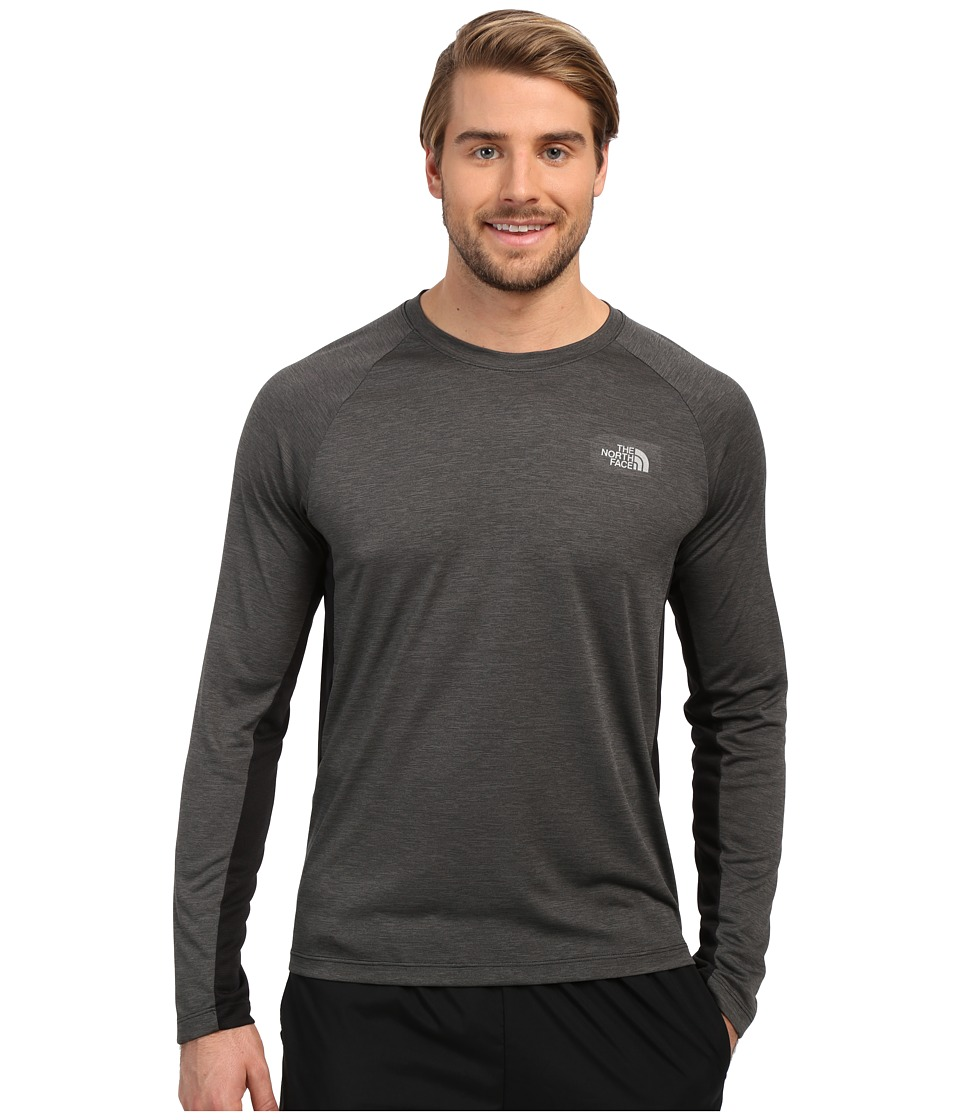 The North Face - Ambition Long Sleeve Shirt (TNF Black Heather) Men's Long Sleeve Pullover