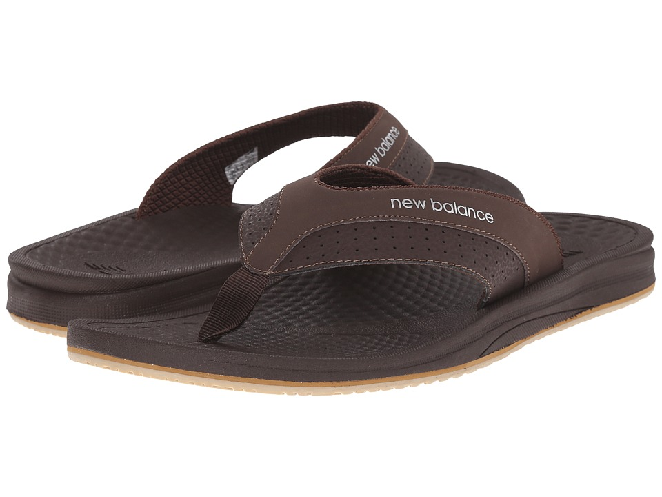 New Balance - PureAlign Thong (Brown) Men's Shoes