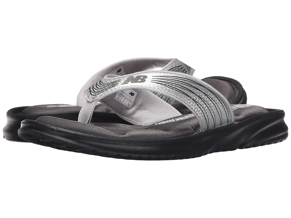 New Balance - Cruz III Thong (Black/Silver) Women's Sandals